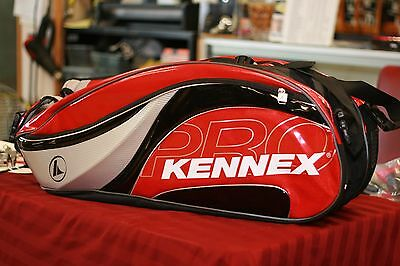 ProKennex Red Racquetball Triple Pack Bag