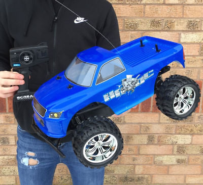 Large Radio Remote Control Rc Car Monster Truck Ready To Run!