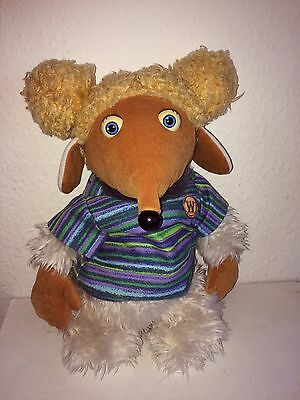 """Vintage Collectable """"Aldernay"""" Womble Soft Plush First Love 1998"""
