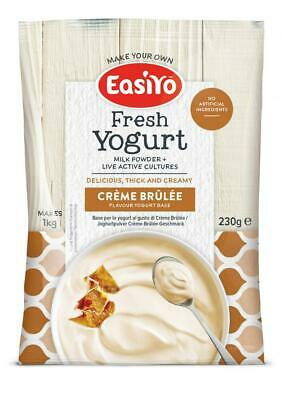 EasiYo Crème Brûlée (Add any other sachet and SAVE on Postage)
