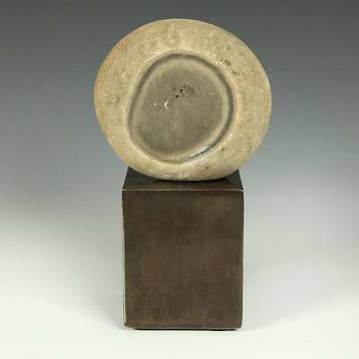 Antique Chinese Stone Gongshi Scholar's Rock With Custom Metal Base China