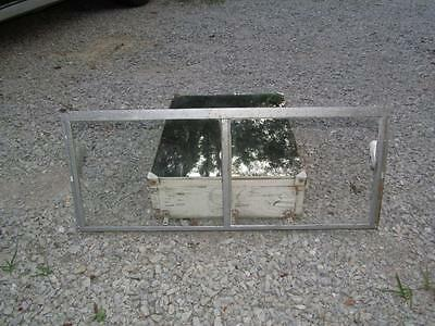 Vintage Metal 2 Pane Basement Window