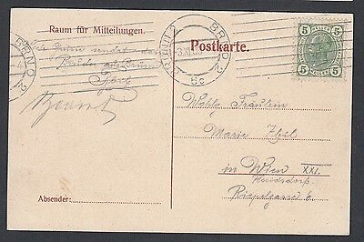 Austria Czech 1908 Steinmuhle Rowing Team Postcard Brunn To Vienna