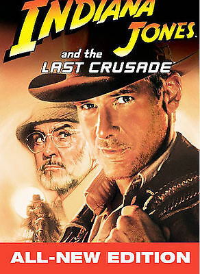 Indiana Jones And the Last Crusade (dvd)  New, Free Shipping