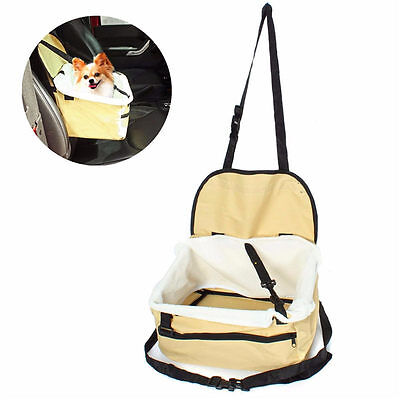 Car Seat & Carrier Cat Small Dog Pet Puppy Travel Cage Booster