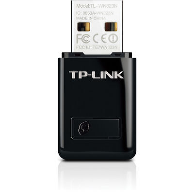 TP-Link TL-WN823N N300 300Mbps 2.4GHz USB Wireless WiFi Network Adapter Dongle
