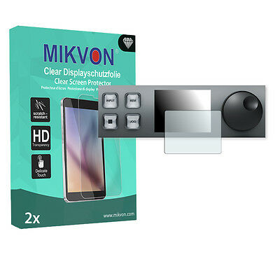 2x Mikvon Clear Screen Protector for Blackmagic HyperDeck Studio 12G accessories