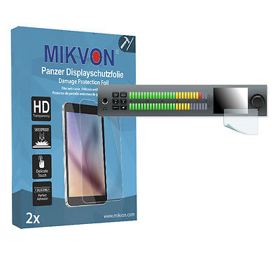 2x Mikvon Armor Screen Protector for Blackmagic Audio Monitor Retail Package