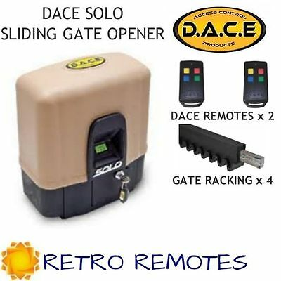 DACE SOLO 500 DC Slide Gate Operator Kit