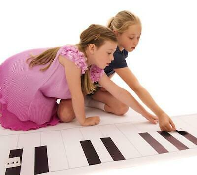 Music Teacher Resource Giant Keyboard Floor Mat  3M x 0.65M (approx. 10ft x 2ft)