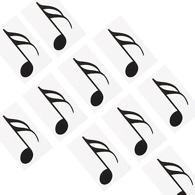 Music Teacher Aid  Extra Note Set - 10 Semiquavers (1/16th Notes) for Floor Mat
