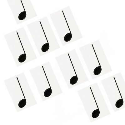 Music Teacher Aid  Extra Note Set - 10 Crotchets (1/4 Notes) for Floor Mat