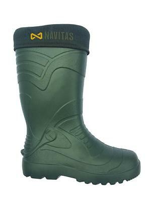 Navitas NEW Carp Fishing LITE Welly Insulated Wellies Boot *All Sizes Available*