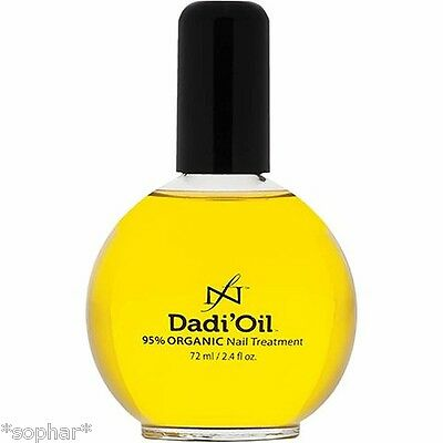 Dadi' Oil 95% Organic Nail & Skin Cuticle Oil for weak/brittle nails 72ml BNIB