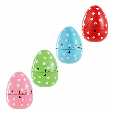 Eddingtons Egg Kitchen Timer - 60 min countdown - Spotted Egg Timer