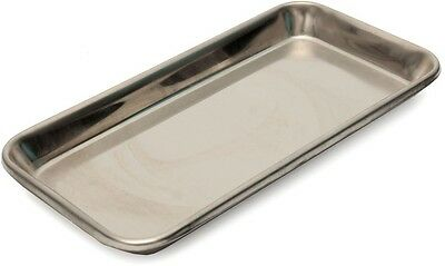 22×12×2cm Stainless Steel Medical Tray Dish Lab Instrument Tray