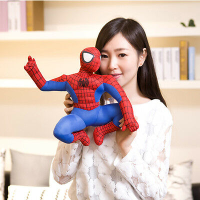 Cute Movie Spider-Man Action Figures Plush Soft Doll Kids Baby Boy Girl Toy Gift