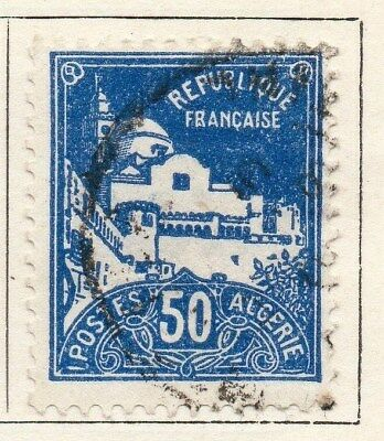 Algeria 1926-27 Early Issue Fine Used 50c. 096486