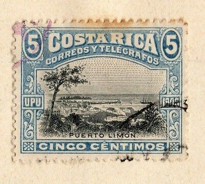 Costa Rica 1892 Early Issue Fine Used 5c. 096033