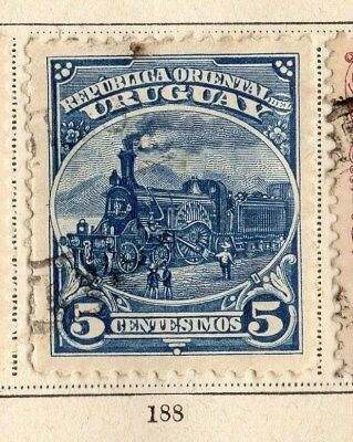 Uruguay 1899 Early Issue Fine Used 5c. 096051