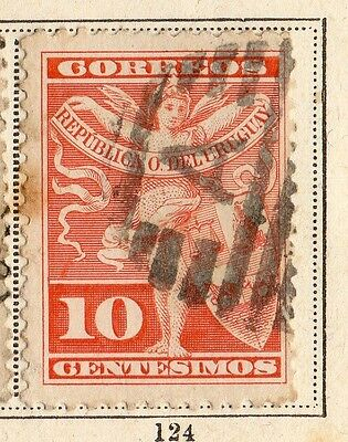 Uruguay 1892 Early Issue Fine Used 10c. 096098