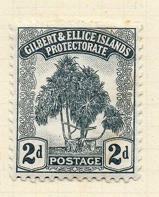 Gilbert & Ellice Islands 1911 Early Issue Fine Mint Hinged 2d. 096228
