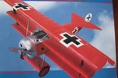 Fokker Dr.1 Giant 1/8 Scale Red Baron 's  The Complete Collection !!