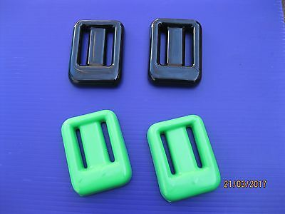 COATED FINE TUNING SCUBA DIVE WEIGHTS 4 pieces for BCD Trim Pockets or Belt NEW