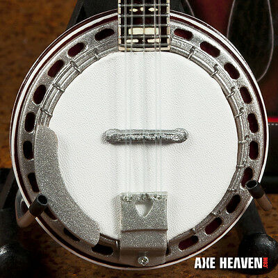 Classic Bluegrass Banjo Miniature Handmade Replica - Free Shipping within US