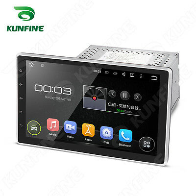 10.1'' Android 5.1 Car Stereo DVD Player GPS Bluetooth 4 core HD Foldable Screen