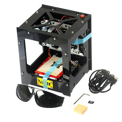 NEJE 1000mW DIY Laser USB Engraver Cutter Engraving Carving Machine Printer CNC