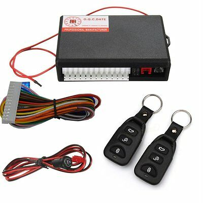 Universal Car Remote Central Kit Door Lock Vehicle Keyless Entry System TB