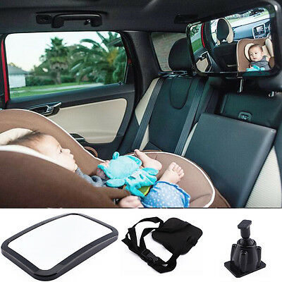 Baby Seat Car Safety Mirror Wide View Adjustable Infant Child Car Rear Ward Care