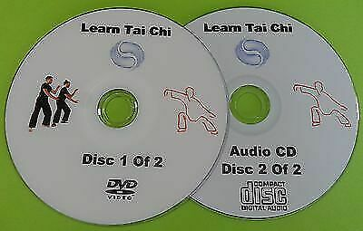 Learn Tai Chi Beginners Relaxation DVD Exercise Health Fitness & Free Audio CD