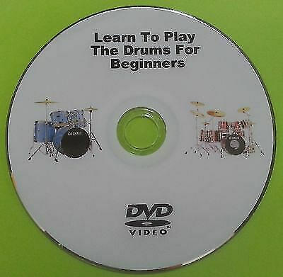 Learn How To Play The Drums For Beginners Instructional Tutorial DVD