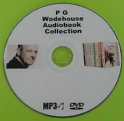 PG Wodehouse MP3 Audio Book Collection On DVD