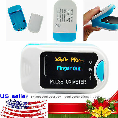 Hot Pulse Oximeter Fingertip blood oxygen saturation, SpO2,PR monitor,OLED,case