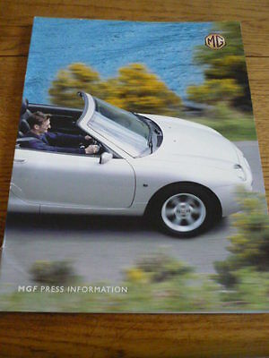 Mgf Press Pack  2000 My, Brochure Related.