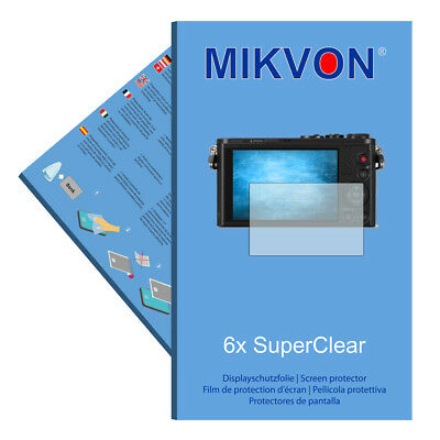 6x Mikvon SuperClear Film de protection d'écran pour Panasonic Lumix DMC-GM1