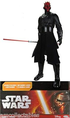 "JAKKS PACIFIC STAR WARS - DARTH MAUL - 18"" - 45cm - NEU/OVP"