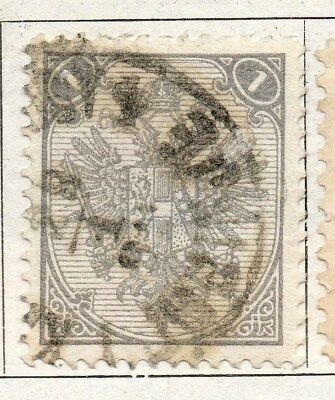 Bosnia Herzegovina 1879 Early Issue Fine Used 1nov. 096560