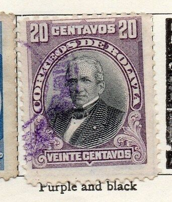 Bolivia 1901-04 Early Issue Fine Used 20c. 096647