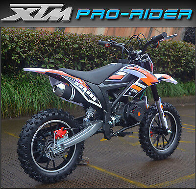XTREME XTM PRO-RIDE Kids 50cc Petrol Dirt Bike Mini Moto Childs Motorbike / 2017