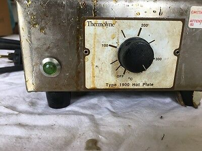 Thermolyne Type 1900 Hot Plate Model: Hpa1915B (120V, 6.2Amp, 750