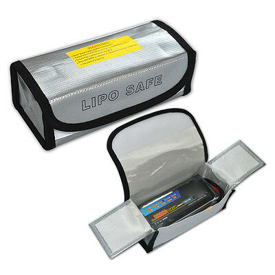 New LiPo Li-Po Battery Fireproof Safety Guard Safe Bag Storage Bag185*75*60MM