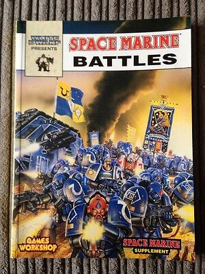 Games Workshop Space Marine Battles Supplement Epic 40k OOP