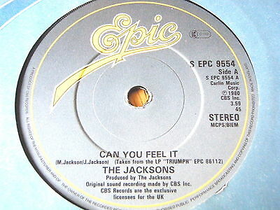 """The Jacksons - Can You Feel It  7"""" Vinyl"""