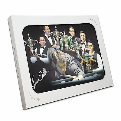 Ronnie O'Sullivan Signed Snooker Photograph World Champion Five Times Gift Box