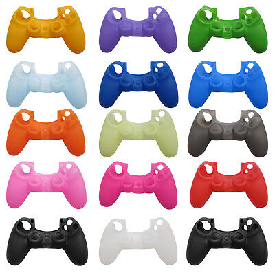 Sony Playstation 4 PS4 Controller Soft Silicone Cover Skin Rubber Grip Case