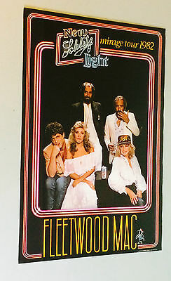 Fleetwood Mac Schlitz Brewing Beer 1982 group photo vintage music memorabilia